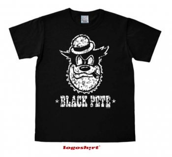 Black Pete T-Shirt Easy Fit Schwarz