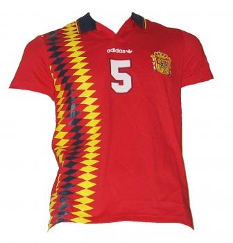 Spanien Retro T-Shirt Adidas Euro 1984