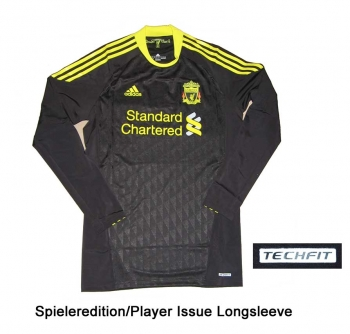 FC Liverpool Trikot 2010/11 Third Adidas Player Issue TechFit LS