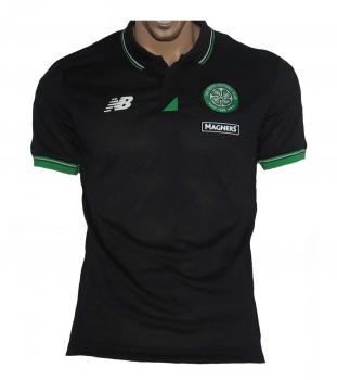 Celtic Glasgow Poloshirt New Balance Black