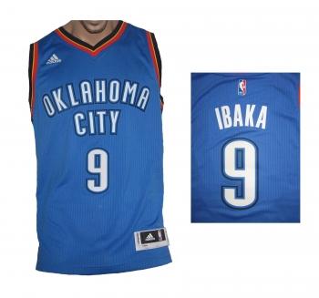 Oklahoma City Thunder NBA Swingman Trikot Away Adidas Serge Ibaka