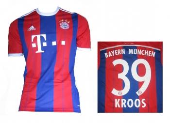 FC Bayern München Trikot Home 2014/15 Adidas Toni Kroos