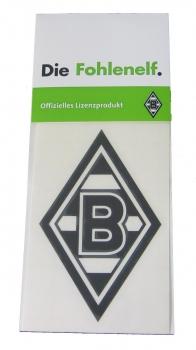 Borussia Mönchengladbach Aufkleber Schwarz