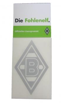 Borussia Mönchengladbach Aufkleber Silber