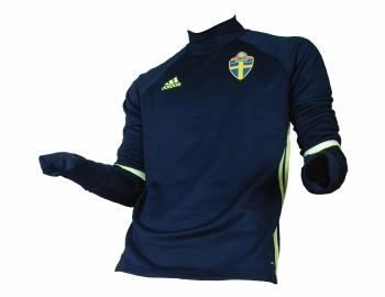Schweden SVFF Training Top Sweatshirt Trikot 2015/17 Adidas