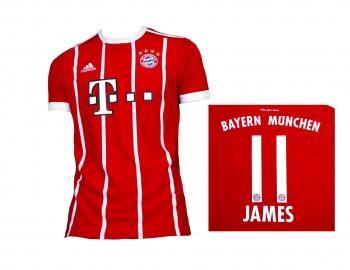 FC Bayern München Trikot Home 2017/18 Adidas James