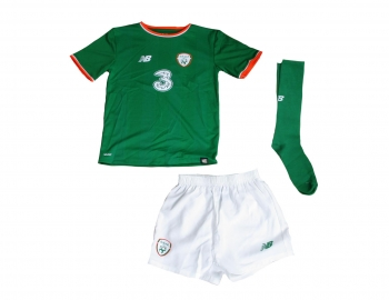 Irland Trikot Home Nationalmannschaft 2017/18 Minikit Kindergröße New Balance