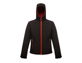 Regatta Softshell Jacke Standout Arley II Black-Red