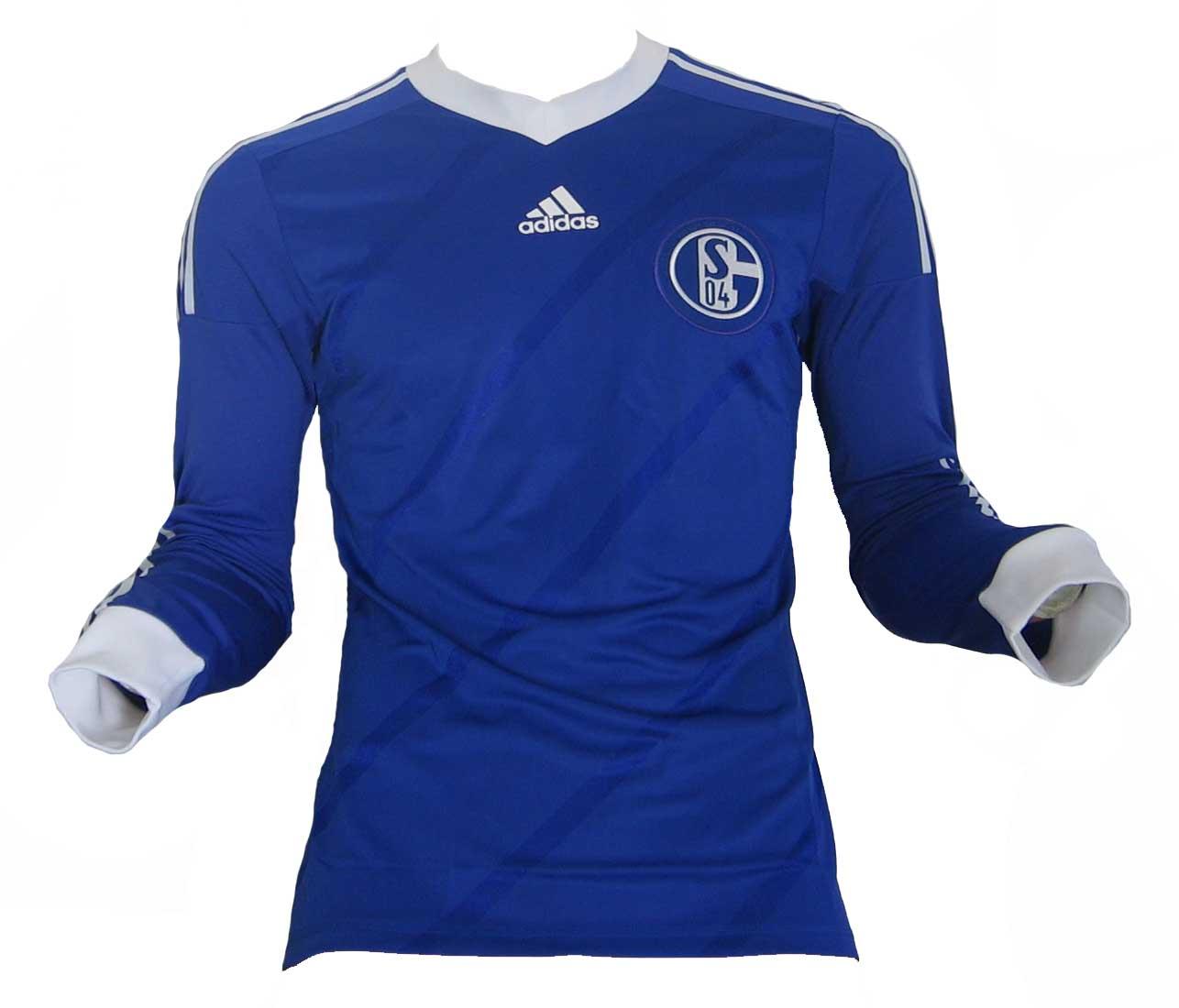 Fc Schalke 04 Trikot 201314 Home Adidas Spielered House Of Shirts