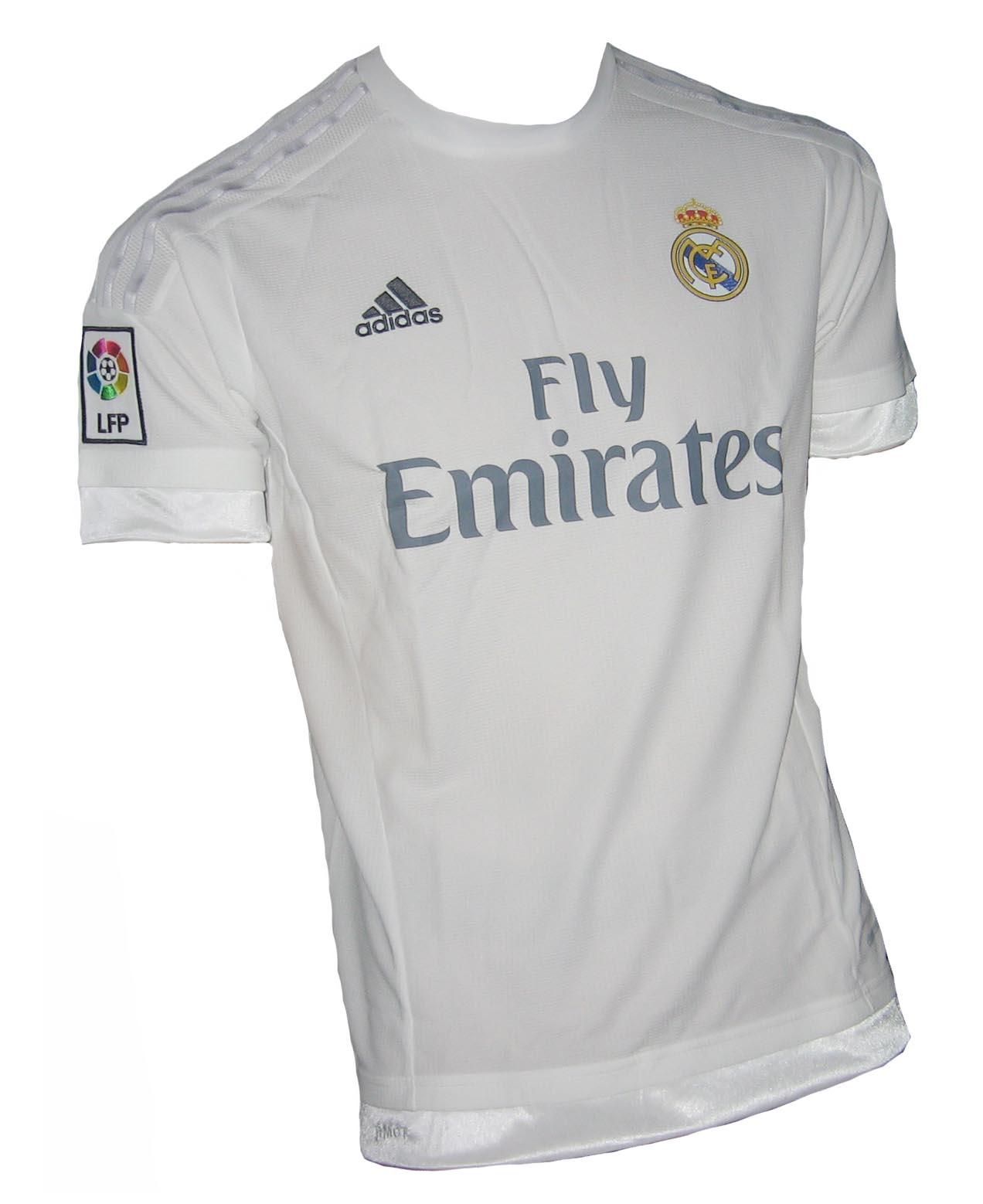 e3c66263b Real Madrid Trikot 2015 16 Home Adidas - House of Shirts