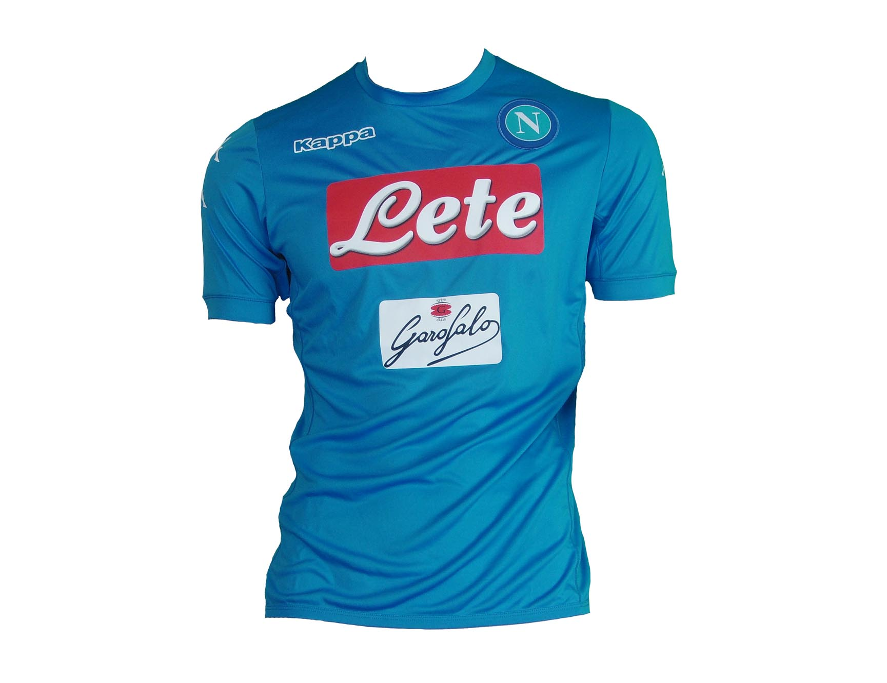 cebadb9acf SSC Napoli Shirt Home 2016 17 Kappa Kombat Jersey Soccer Italy M