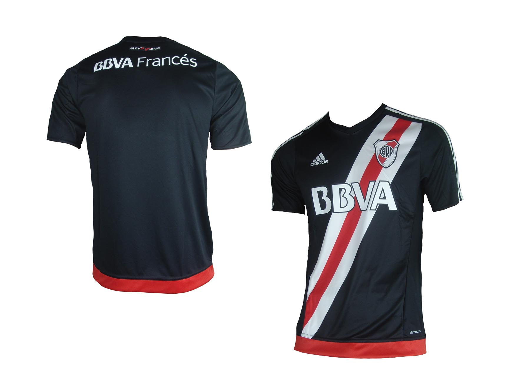 caadf872d4a CA River Plate Jersey 3rd 2016 17 Adidas Shirt Soccer Argentina M L ...