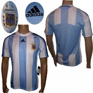 Argentinien Trikot Home Adidas 2007/09 Kindergröße