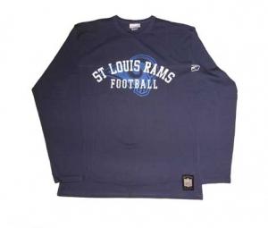 St. Louis Rams T-Shirt Longsleeve NFL Reebok