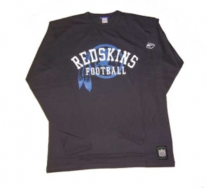 Washington Redskins T-Shirt Longsleeve NFL Reebok