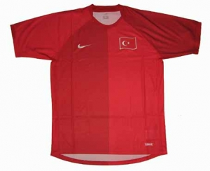 Türkei Trikot 06/08 Away Nationalmannschaft Nike