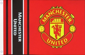Manchester United Fahne
