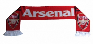 Arsenal London Jacquard Fanschal