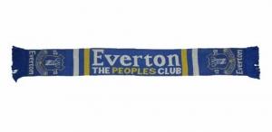 Everton FC Jacquard Fanschal