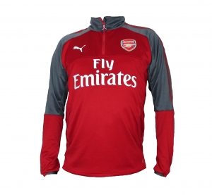 Arsenal London Training Top/Sweatshirt 2017/18 Puma Red