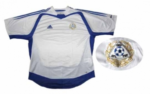 Finnland Trikot Nationalmannschaft Home Adidas 2004/06
