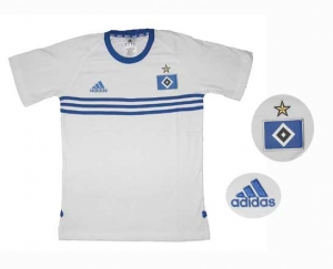 Hamburger SV T-Shirt Adidas White