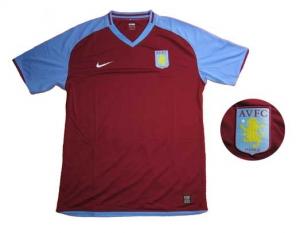 Aston Villa Trikot Home 08/09 Nike Spieleredition
