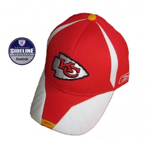 Kansas City Chiefs NFL Player Sideline Cap Reebok