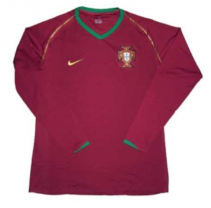 Portugal Trikot Home Nike 2006/08 Spieleredition XXL