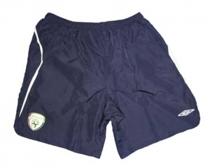 Irland Short Training 08/09 Umbro Navy