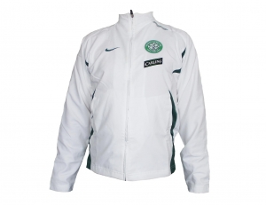 Celtic Glasgow FC Tracksuit Top White Nike Player Issue