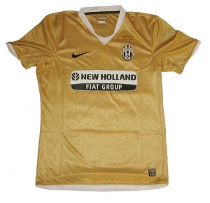 Juventus Turin Trikot 08/09 Away Nike Player Issue XXL