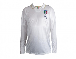 Italien Spieleredition Trikot Away 2009 Puma Player Issue Longsl