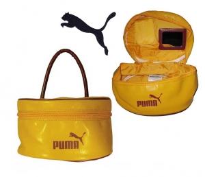 Damen Handtasche/Kosmetiktasche Puma Yellow