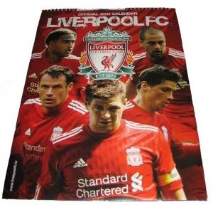 FC Liverpool Kalender 2011 A3