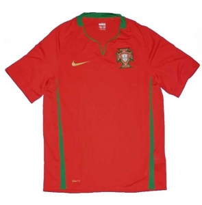 Portugal Trikot Nationalmannschaft Home Nike 2008/10