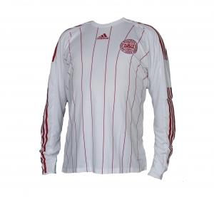 Dänemark Trikot Away Adidas 08/09 Formotion Longsleeve