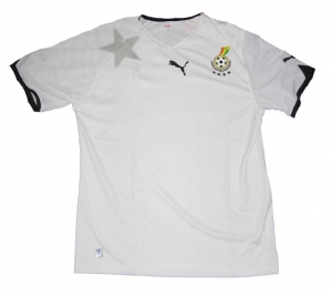 Ghana Trikot 2010 Nationalmannschaft Home Puma