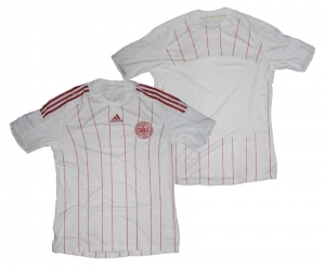 Dänemark Trikot Away Adidas 08/09 Formotion