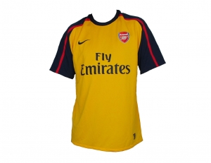 Arsenal London Trikot Away 08/09 Nike Player Issue