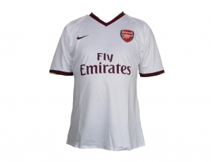 Arsenal London Trikot Away CL 07/08 Nike Player Issue
