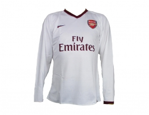 Arsenal London Trikot Away CL 07/09 Nike Player Issue LS