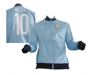 Argentinien Trainingsjacke Freizeitjacke 2013/14 AFA Lionel Messi Adidas