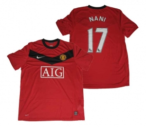 Manchester United Trikot 09/10 Home Nike Nani
