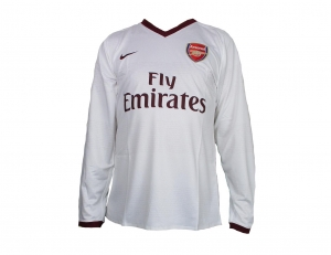 Arsenal London Trikot Away EPL 07/09 Nike Player Issue LS