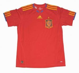 Spanien Trikot WM 2010 Home Adidas Kindergröße