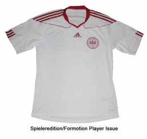 Dänemark Trikot Away Adidas 09/11 Formotion Spieleredition