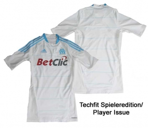 Olympique Marseille Trikot Home Adidas 09/10 Techfit