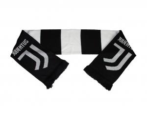 Juventus Turin Fanschal Jacquard Balken