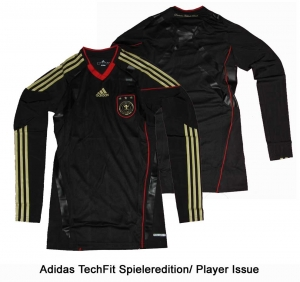 Germany DFB  Shirt Away 09/11 Player Issue TechFit LS